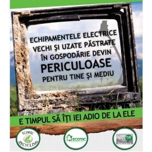 afis folosit in rural, Suceava