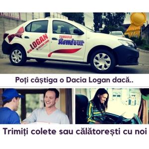 La tombola Romfour se poate castiga o Dacia Logan in fiecare luna!