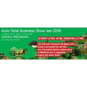 Ad. Auto Total Business Show prezinta editia de primavara – ATBS Iasi