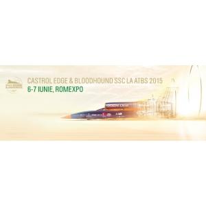 ulei castrol. CASTROL BLOODHOUND SSC - masina supersonica VINE LA ATBS 2015
