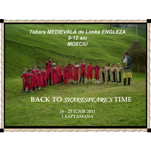 Tabara medievala de limba engleza. Tabara medievala de limba engleza
