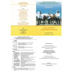 congres baltata. Invitatie Congres