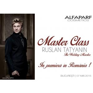 alfaparf. Master Class Ruslan Tatyanin - In premiera in Romania