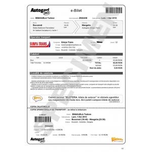 Specimen bilet Autogari.RO