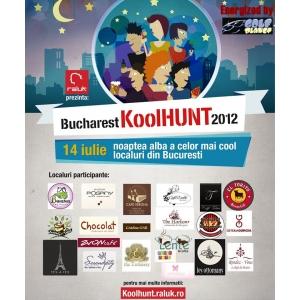 localuri cool. Bucharest KoolHunt - Noaptea Alba a Localurilor Cool