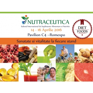 sanatate. 14-16 aprilie, Week-endul tau de sanatate la Nutraceutica!
