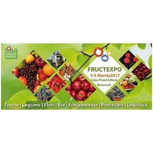 horticultura. FRUCTEXPO BY AGRIFOOD LOGISTICA, Expozitia de horticultura si logistica, 3-5 martie 2017