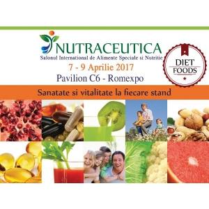 alimente functionale. NUTRACEUTICA &  DIET FOOD Salonul International de Alimente Functionale si Nutritie  isi deschide portile celei de a 2-a editii!