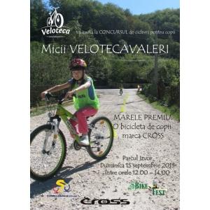 concurs de ciclism. Micii Velotecavaleri la BikeFest 2013