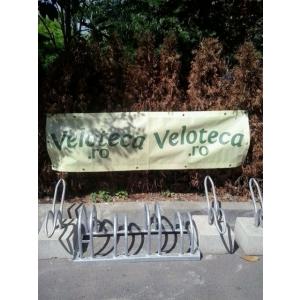 parcari biciclete. rastele parcare biciclete produse de Veloteca