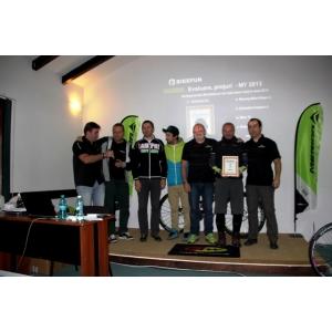 bikefun. Veloteca premiata la Merida BikeFun Dealers Meeting 2013