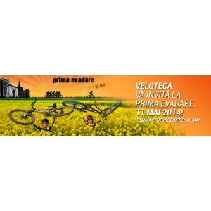 prima evadare. Veloteca va invita la maratonul Prima Evadare -11 mai 2014