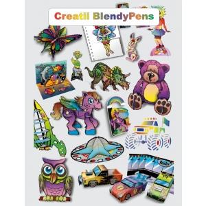 carioci. Blendy Pens - cariocile micilor creatori acum la www.crazytoys.ro
