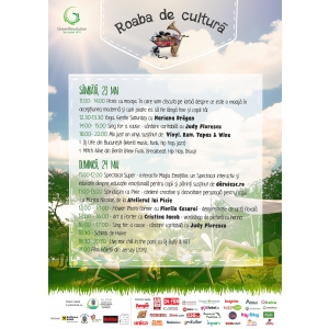 roaba. Roaba de cultura se redeschide in parcul Herastrau, sambata, 23 mai, 2015