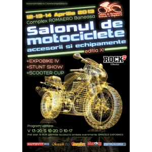 SMAEB - Salonul de Motociclete, Accesorii si Echipamente, Bucuresti - 12-14 Aprilie 2013, Romaero Baneasa
