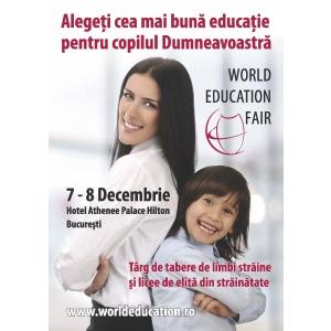 Noile oportunităţi de formare în şcoli de elită din străinătate vor fi prezentate la singurul târg specializat pentru învăţământul secundar