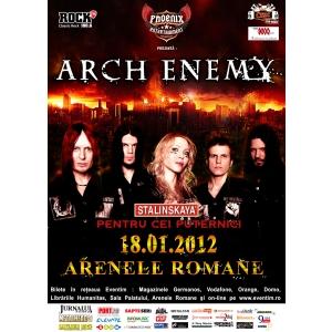 Arch Enemy , in premiera la Bucuresti!