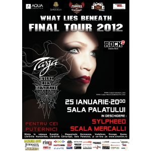 Tarja Turunen- FINAL TOUR 2012-Reguli de acces