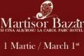 Martisor Bazar la Carol Parc Hotel - martisor de portelan si cina numai in alb si rosu