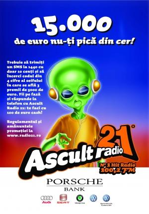 15 000 de euro nu-ti pica din cer! Asculta Radio 21!