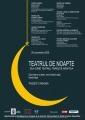 RESTAURANT DE NOAPTE Maya. Teatrul de Noapte - Ziua când teatrul trăieşte noaptea