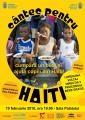 concert caritabil. Cântec pentru Haiti – Concert caritabil