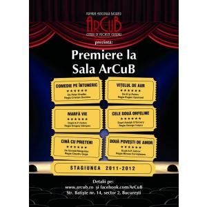 http //arcub ro/. ArCuB te invită la teatru!