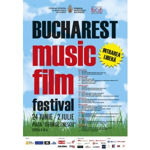 Bucharest Music Film Festival. Bucharest Music Film Festival începe mâine