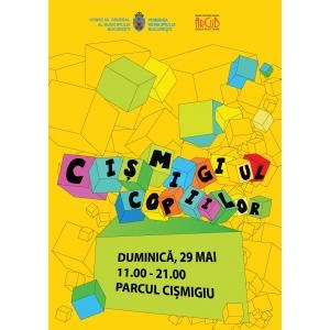 timbre Ziua Internationala a Copilului. Duminica, 29 mai,  parcul Cismigiu va rasuna de veselie, de Ziua Internationala a Copilului