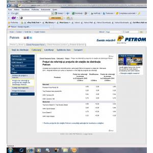 Petrom. Calcule Petrom
