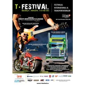 festival bucuresti. T-festival 2015 - pentru prima dată în Bucuresti