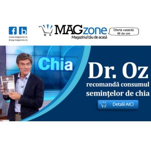 Dr. Oz recomanda consumul semintelor de chia