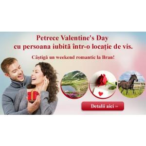 Castiga un weekend romantic in 2!