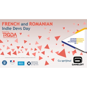 Gameloft sustine French and Romanian Indie Devs Day!