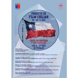Chile. Chile - istorie si peisaje- o saptamina de film chilian la Instituto Cervantes
