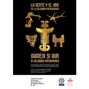Despre aur si oameni in Columbia prehispanica