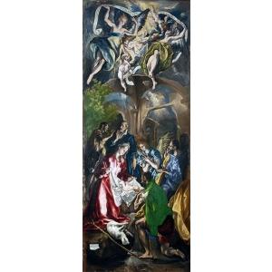 jurnale. El Greco, Adorația păstorilor (MNAR)