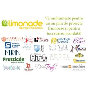 Agenția Limonade a sărbătorit 1 an cu o nouă echipă