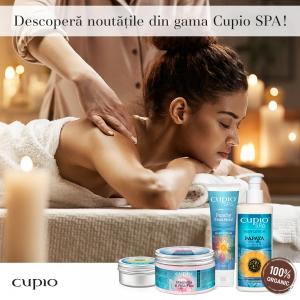 Cupio SPA – o gamă de produse 100% organice destinate frumuseții pielii