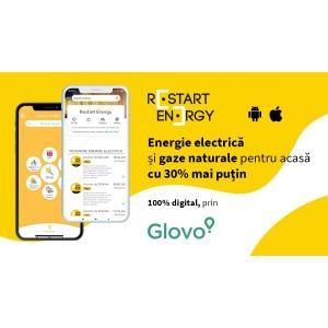 Premieră în România: acum poți achiziționa energie și gaz prin intermediul aplicației Glovo