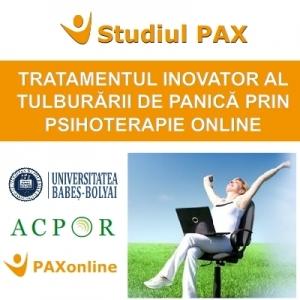 Lansarea primului studiu clinic din România  pentru tratamentul online al Tulburării de panică