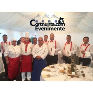 nunta la cort. Chef Vasile Stan impreuna cu echipa Cortnunta.com