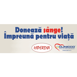 Brasovenii au intampinat Ziua Mondiala a Sanatatii donand sange in campania organizata de Clinicco si Hiperdia