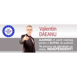 valentin porcișteanu. Valentin Eugen Dăeanu transmite un apel la solidaritate către toţi candidaţii independenţi