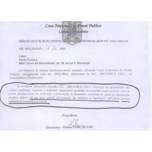 CNPP a suspendat activitatea firmei ARCFORCE Craiova!