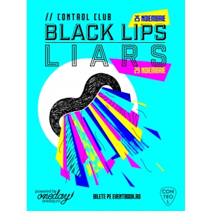 liars. poster Black Lips Liars
