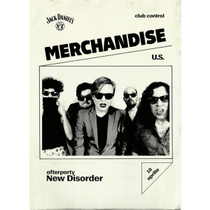 Merchandise, concert in premiera la Bucuresti!