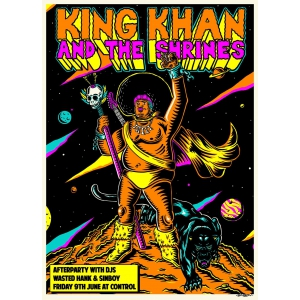 King Khan And The Shrines, concert in premiera la Bucuresti!