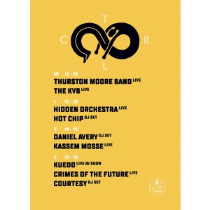 Thurston Moore (Sonic Youth), The KVB si Hidden Orchestra – live la Control 8