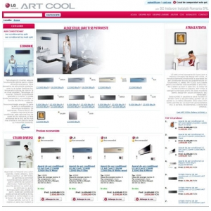 INstarom. Aparate de aer conditionat LG ARTCOOL